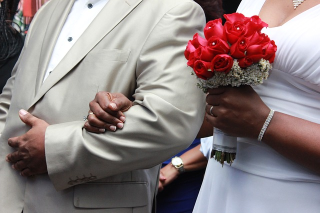 černoši na svatbě
