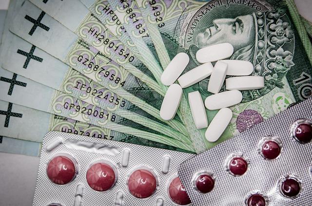 léky a peníze
