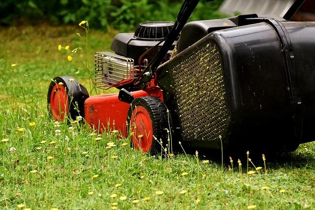 sekání zahrady