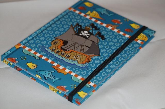 barevná knížka pro děti